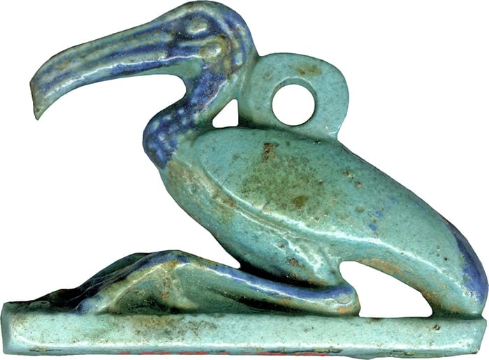 Blue Candle Meanings - Egypt Thoth Ibis
