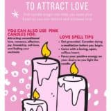 Pink Candle Meaning - Love Magic