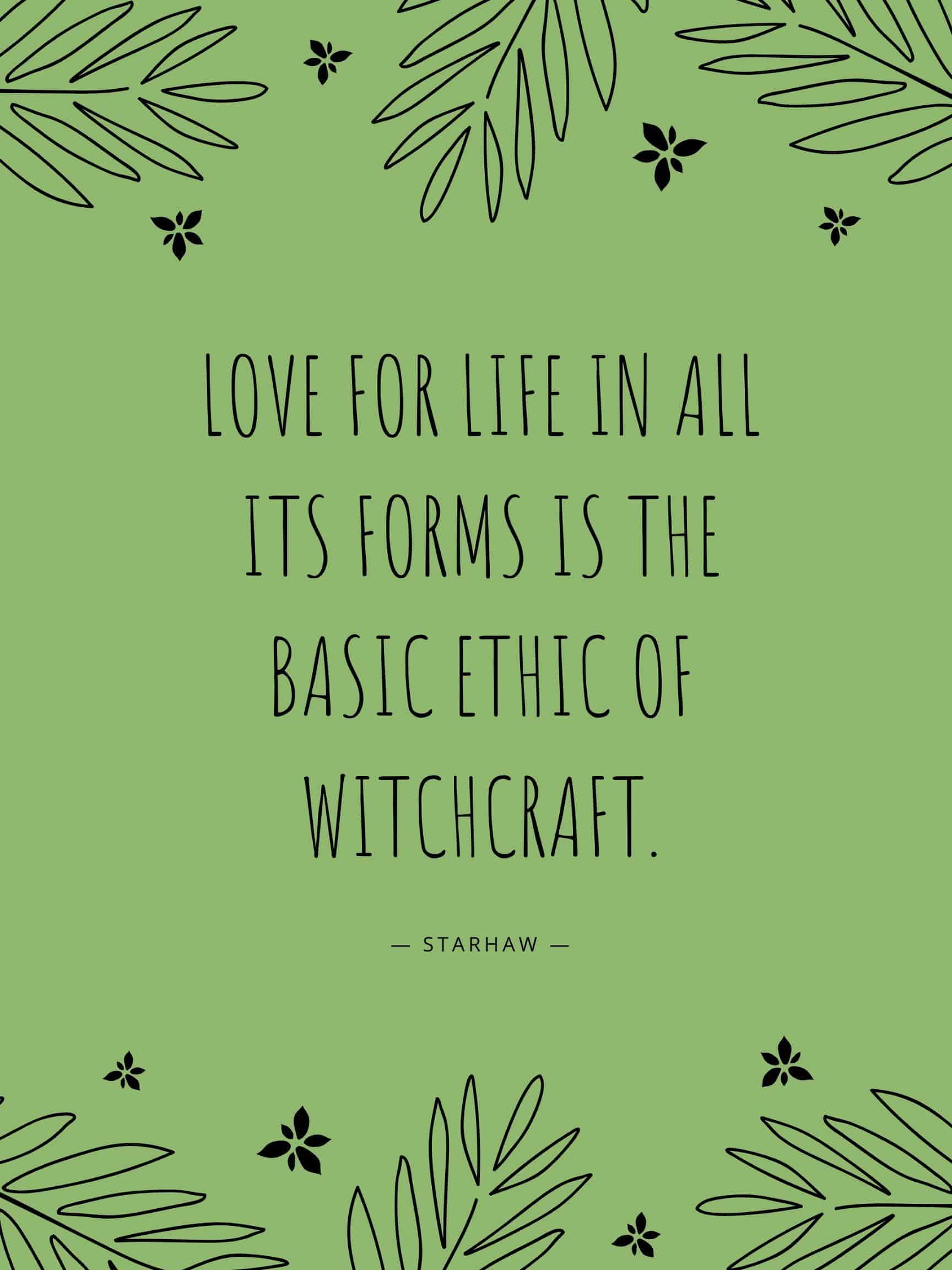 Witch Quotes - Love for Life