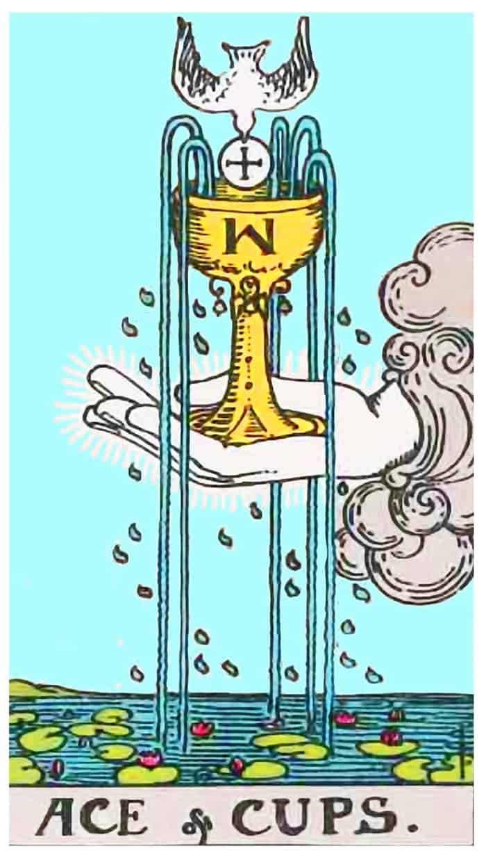 Ace of Cups - Rider Waite