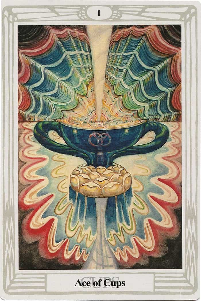 Ace of Cups - Thoth