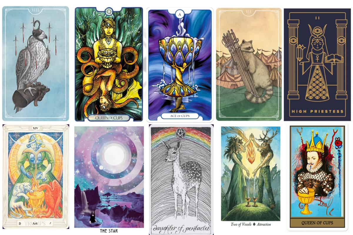 Beautiful Tarot Decks