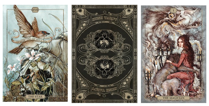 Beautiful Tarot Decks - Hush