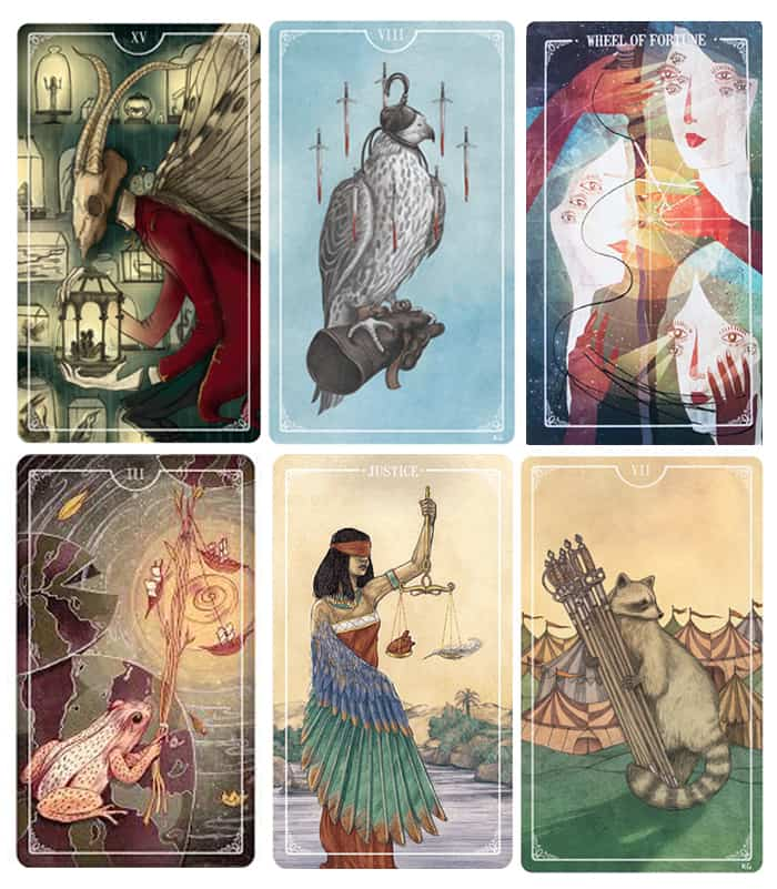 Beautiful Tarot Decks - Ostara