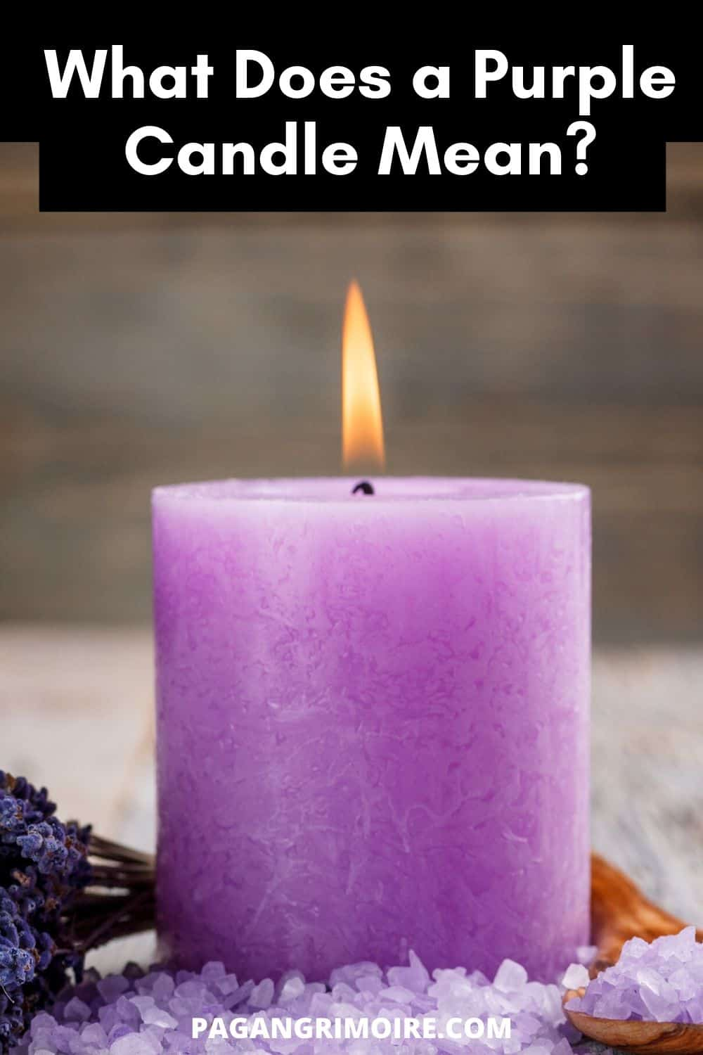 Purple Candle Meaning