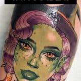 Witch Tattoo Ideas