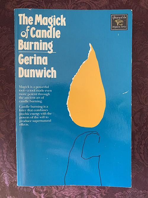 Best Books for Beginner Witches - Magick of Candle Burning Dunwich
