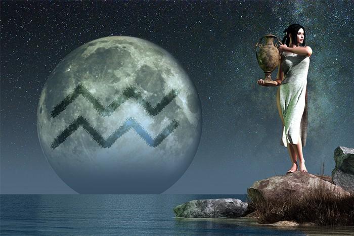 Aquarius Symbol - Water Bearer