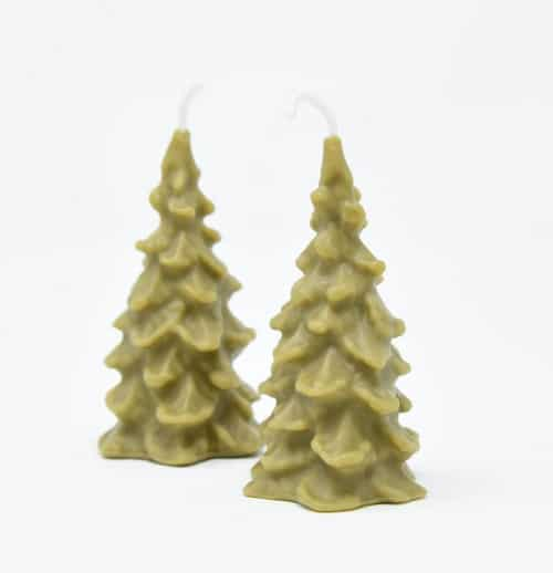 Bayberry Candle - Christmas Tree