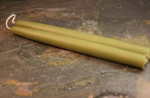 Bayberry Candles - hand dipped taper