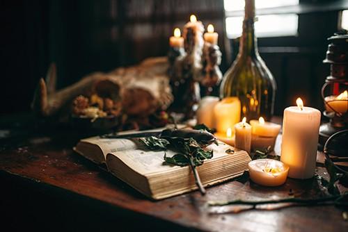Candle Magic for Manifestation - Altar