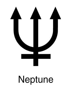 Pisces Symbol - Neptune