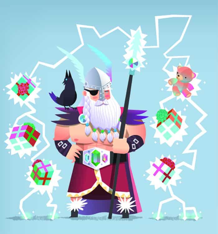 What Is Yule - Odin Santa