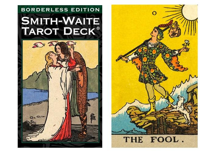 Best Tarot Cards for Beginners - Borderless Rider Waite