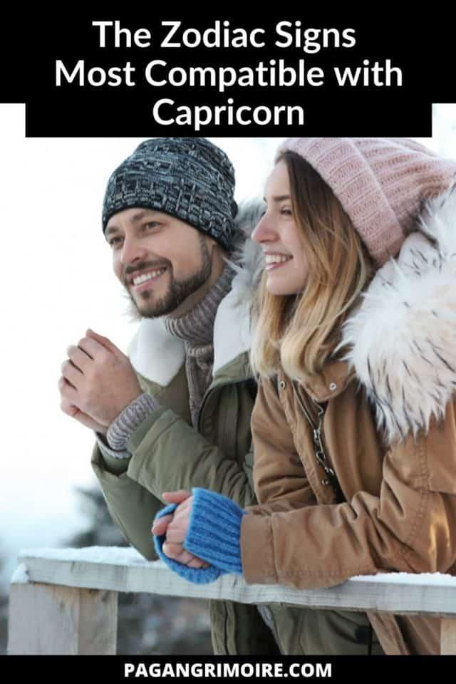 Capricorn Compatibility - Pin