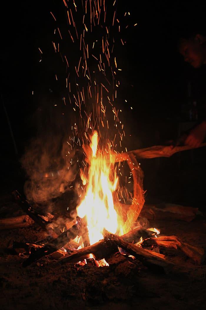 Imbolc - Bonfire