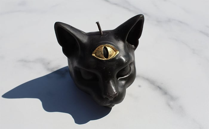 Black Candle Meaning - Black Cat Candle