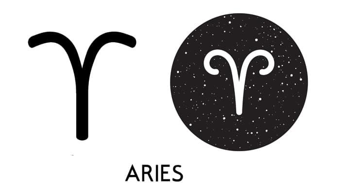Aries Symbol - Glyph