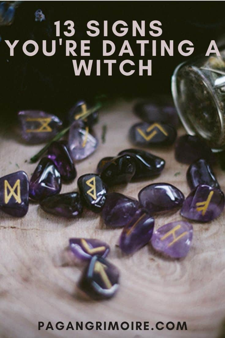Signs You're Dating a Witch - Pin