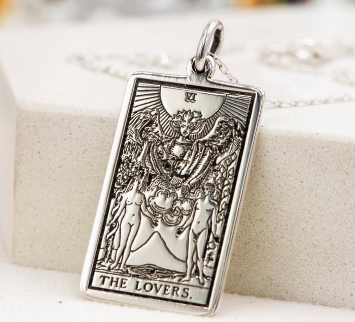 Gemini Zodiac Sign Gift Ideas - The Lovers Necklace