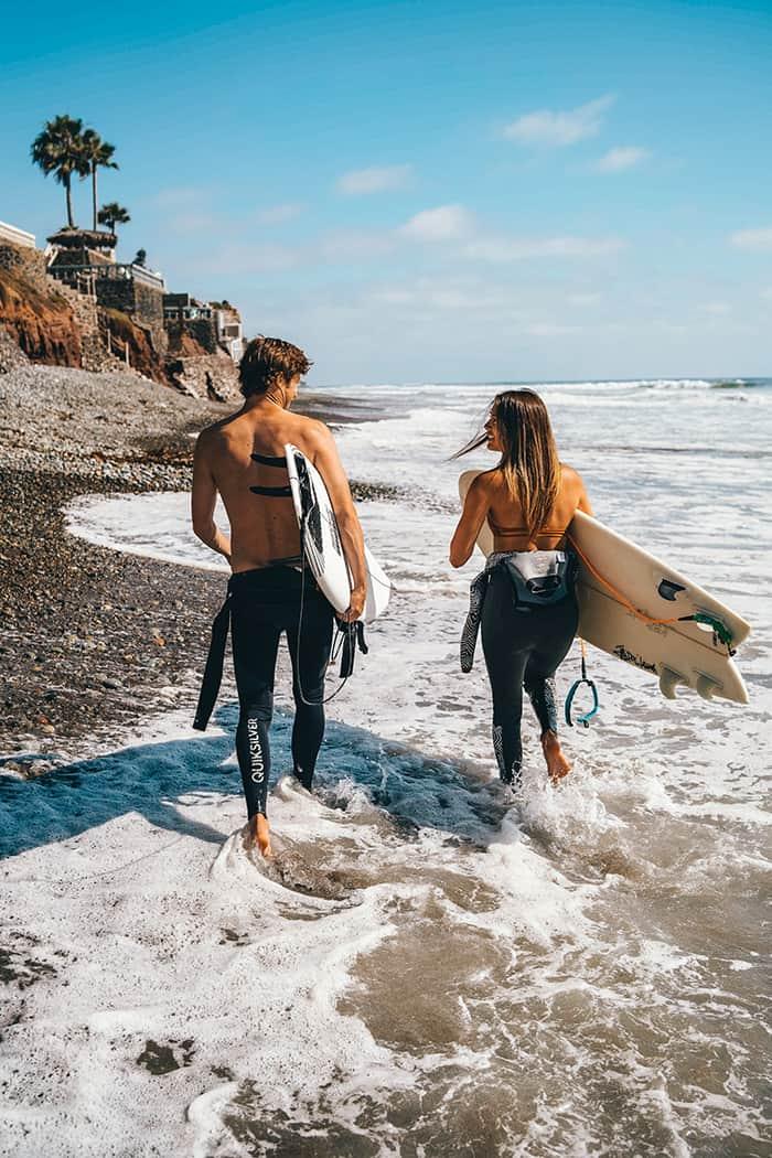 Gemini Personality Traits - Surfers at Beach
