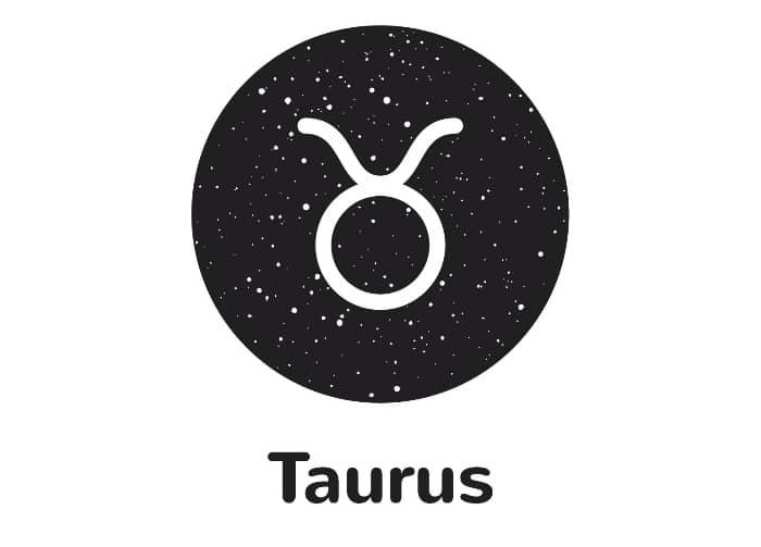 Taurus Symbol - Glyph