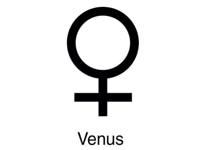 Taurus Symbol - Venus