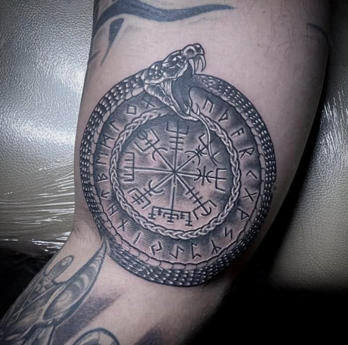 Snake Tattoos - Runes
