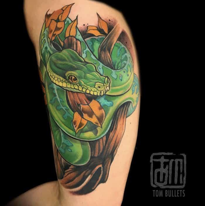 Snake Tattoos - Python